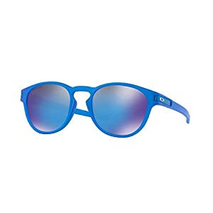 Oakley Latch Sunglasses X-Ray Blue / PRIZM Sapphire & Cleaning Kit Bundle