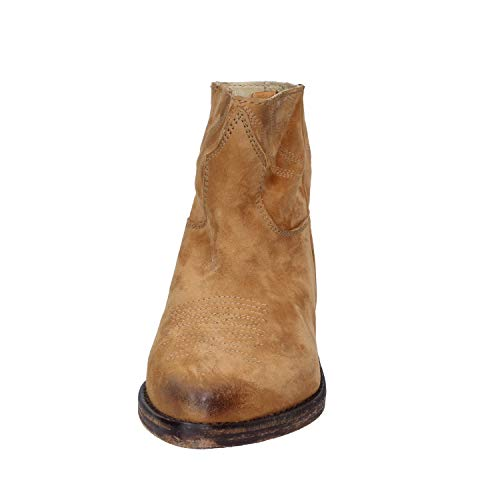 Suede in Marrone Wolf Stivaletti Mr Bqva0w4