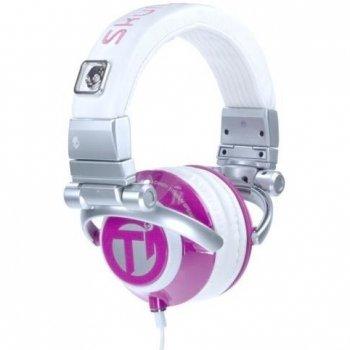 Skullcandy Ti Chick Stereo Headphones - Pink