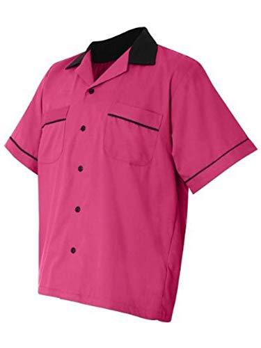 - Hilton Bowling Retro Gm Legend (Pink_Black) (XL)