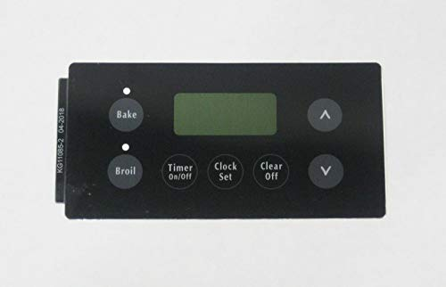 Oven Clock Overlay Pad 316220701 for Electrolux Frigidaire ERC Range Control