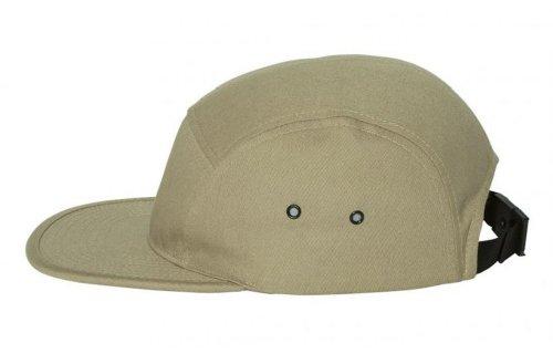Yupoong - Jockey Flat Bill Cap, Khaki ()