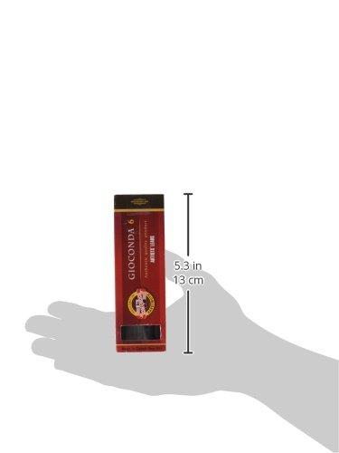 Set of 6 KOH-I-NOOR Soft Artificial Charcoal Set