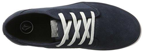Bleu de Combo Volcom Blue Grimm Chaussures Homme Bcb Skateboard Noir 2 qwPU40