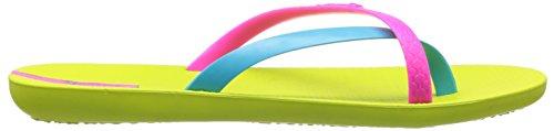 IPanema Mix Fem 81137 - Sandalias de caucho para mujer, color Verde (Lime)