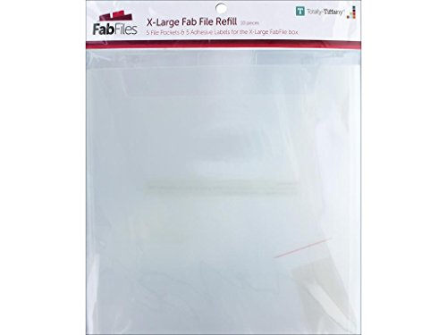 Totally-Tiffany X-Large 12' x 12' Fab File Refill Pocket