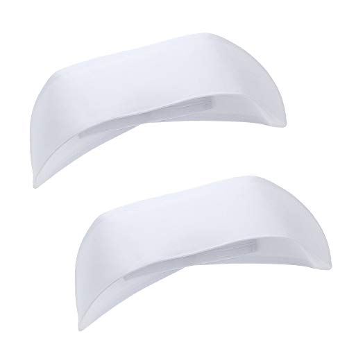 BinaryABC Nurse Hat Cap Headband Cosplay Hat Costume Funny Party Hats Accessories 2pcs(White) -
