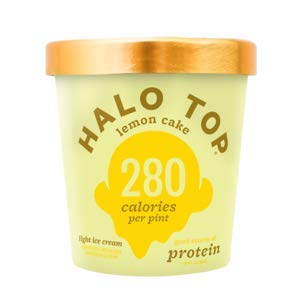 Halo Top, Lemon Cake Ice Cream, Pint (4 Count) by Halo Top (Image #3)