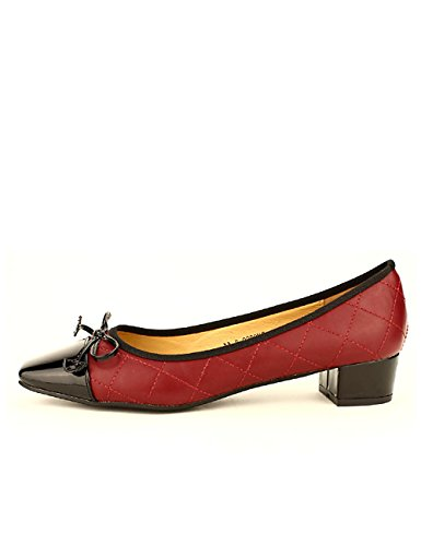Chaussures Talon Ballerine Bordeaux Femme Misty À Cendriyon x7TXEqwvv