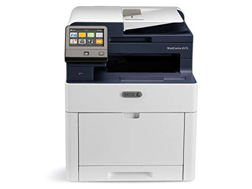 Xerox WorkCentre 6515/DNI Color Multifunction Printer, Amazon Dash Replenishment Enabled (Xerox Phaser Color Laser Printer)