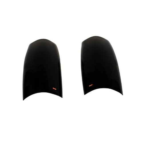 Wade 72-31804 Smoke Tint Solid Design Tail Light Cover - Pair by Westin -
