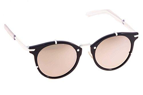 Dior Homme Lunettes de soleil Dior 0196S Pour Homme Polished Black   Matte  Black   Grey 2ce6c16b595e