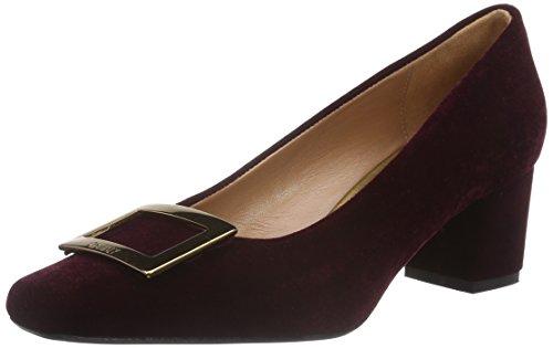 Oxitaly Women's Adele 211 Closed Toe Heels Red (Bordo) mfuNeuDhH