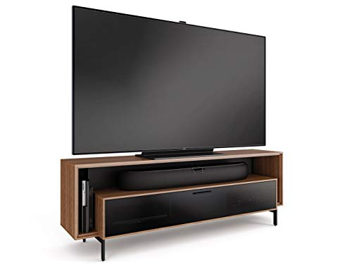 BDI 8167 WL Cavo Triple-Wide TV Stand & Media Cabinet, Natural Walnut