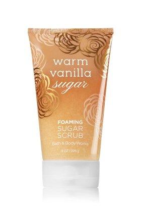 Warm Vanilla Sugar Scrub - WARM VANILLA SUGAR Foaming Sugar Scrub