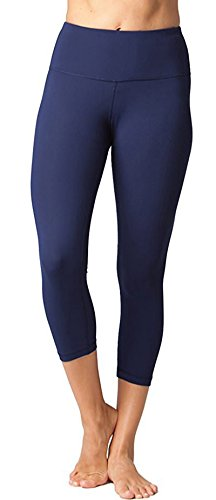 - FIRM ABS High Waist Fitness Yoga Sport Pants Stretch Point Leggings,Navy Blue,X-Small