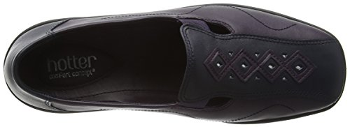 Hotter Calypso, Mocasines para Mujer, 37.5 EU Multicolor - Multicolor (Navy/Loganberry)