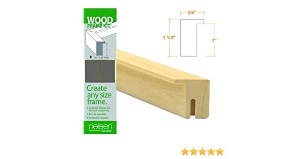 Amazon.com: Nielsen Bainbridge Wood Frame Kits natural 20 in.