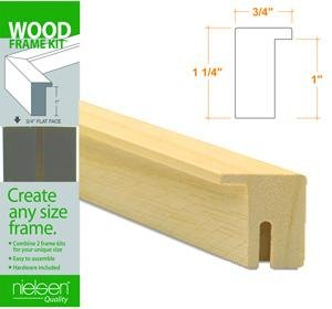 Nielsen Bainbridge Wood Frame Kits natural 18 in. FW1601846