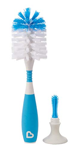 Munchkin Deluxe Bottle Brush, Colors May Vary - 2 Count ()