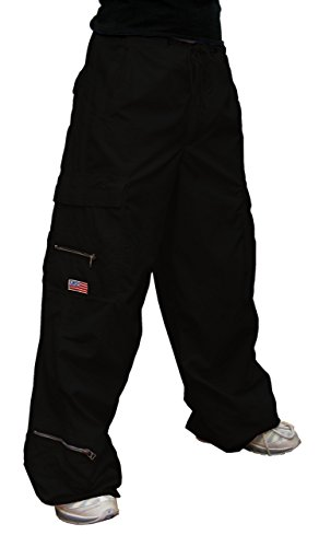 Pants Ufo (UFO's Micro Twill Canteen Pant, Black (X-Large))