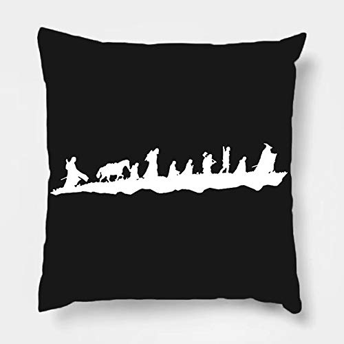 (Pillow Covers The Fellowship Cotton Line Decorative Throw Pillow Case Cushion Cover 18 x 18 Inch for Sofa)