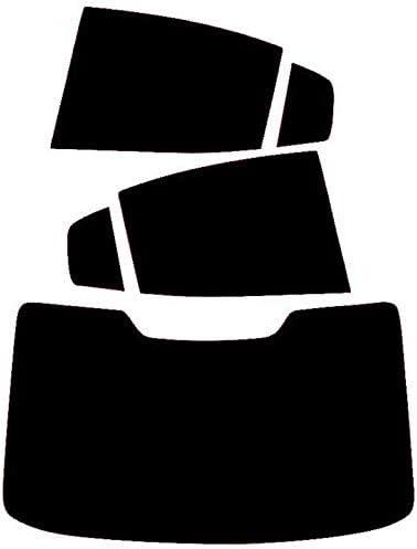 Pssc Pr/é D/écoup/é Film Vitre Teint/ée Compatible avec Volvo S60 2018-Current Arri/ère Windows 05/% Tr/ès Fonc/é Limousine Teint/é
