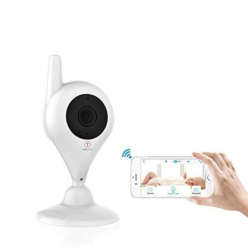 TimeFlys WiFi Baby Monitor i300 Motion Detection Two Way Tal
