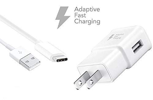 (OEM Samsung Home Wall Charger for Galaxy S8/S8+ Note 8 - White EP-TA20JWE / EP-DN930CWE- Bulk Packaging)