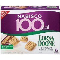 Nabisco 100 Calorie Packs, Lorna Doone Shortbread Cookie Crisps, 4.44 Ounce Box (Pack of 6) Thank you for using our service
