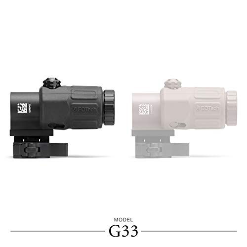 EOTECH G33.STS.BLK G33 Magnifier with Switch to Side Mount,...