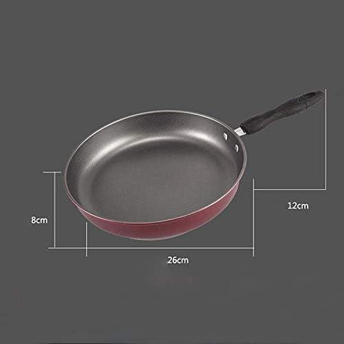 XXDTG POÊLON Matériau Acier Revêtement intérieur Inductiion gaz Casseroles Pan Accueil Cuisine Cuisson Casseroles Aide