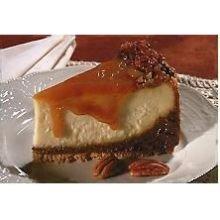 Lawlers Desserts Colossal Caramel Fudge Cheesecake, 108 Ounce - 4 per - Cheesecake Fudge