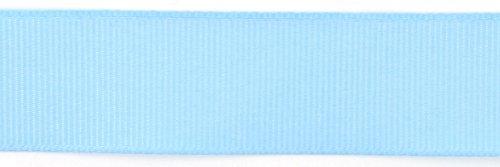 Grosgrain Light - Kel-Toy Polyester Grosgrain Ribbon, 7/8-Inch by 25-Yard, Light Blue