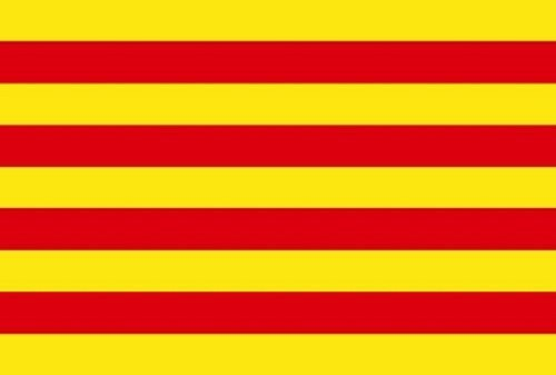 Catalan Flag (3x5 Catalonia Spain Flag Spanish Banner Pennant Bandera 3x5 Foot Indoor Outdoor)
