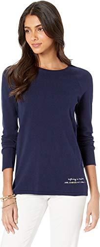 Lilly Pulitzer Women's Dinah Sweater True Navy ()