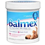 Balmex Diaper Rash Cream 16 Oz Case of 6