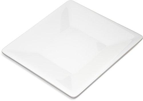 Carlisle 6402702 Grove Melamine Square Plate, 6