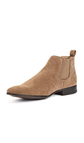 Taupe À Reservoir Homme Pointu Shoes Bout Bottines xRnwq4Tzag