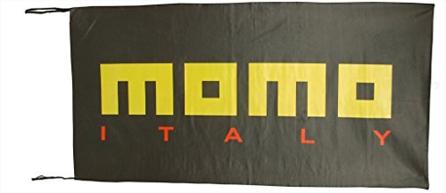 Momo Steering Wheel Flag Banner 2 5 X 5 Ft
