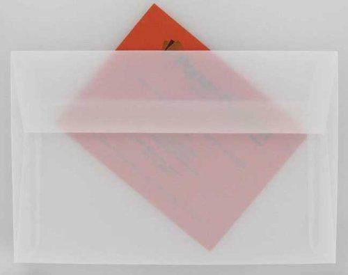 White Translucent (Vellum) - A9 Envelopes - 25 PK
