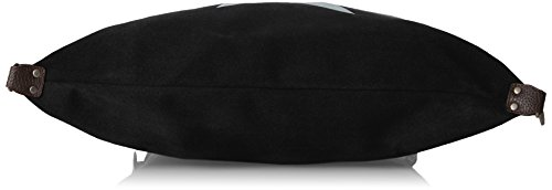 Bags4Less F3151 - Bolso de hombro Mujer Gamuza negro