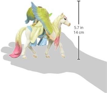 Schleich ruvida /& Glitter Pegasus serie BAYALA giocattolo di fata Pet Cavallo Animale NUOVO
