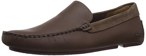 Lacoste Men's Piloter 317 1, Dark Brown, 11.5 M US