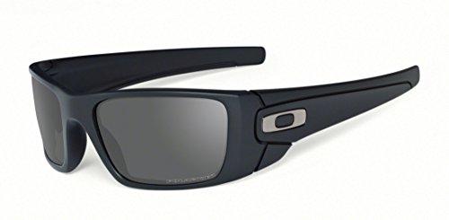 cost of oakley sunglasses 5fwb  Oakley Men's FuelCell Polarized Sunglasses, Matte Black Frame/Grey  Polarized Lens