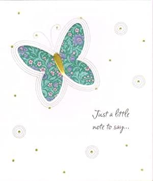 Just a little note to say thinking of you greetings card amazon just a little note to say thinking of you greetings card m4hsunfo