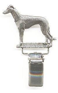 Greyhound Dog Show Ring Clip// Ring Number Holder