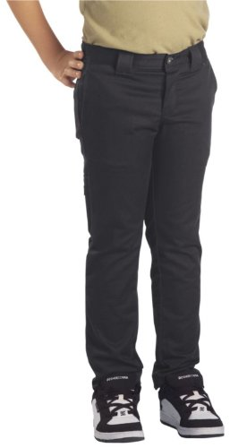 - Dickies Big Boys' Skinny Straight Pant, Black, 18