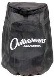 Outerwears Pre-Filter for RU-0710 Centered 2 1/2in. Flange 3 1/2in. Diameter 5in. Length ()