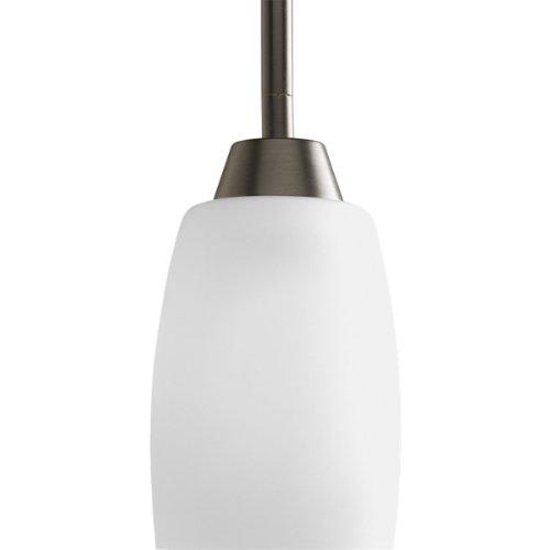 Progress Lighting P5108-20 1-Light Mini-Pendant with Etch...
